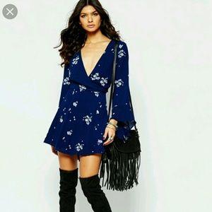 Free People Jasmine bell sleeve dress